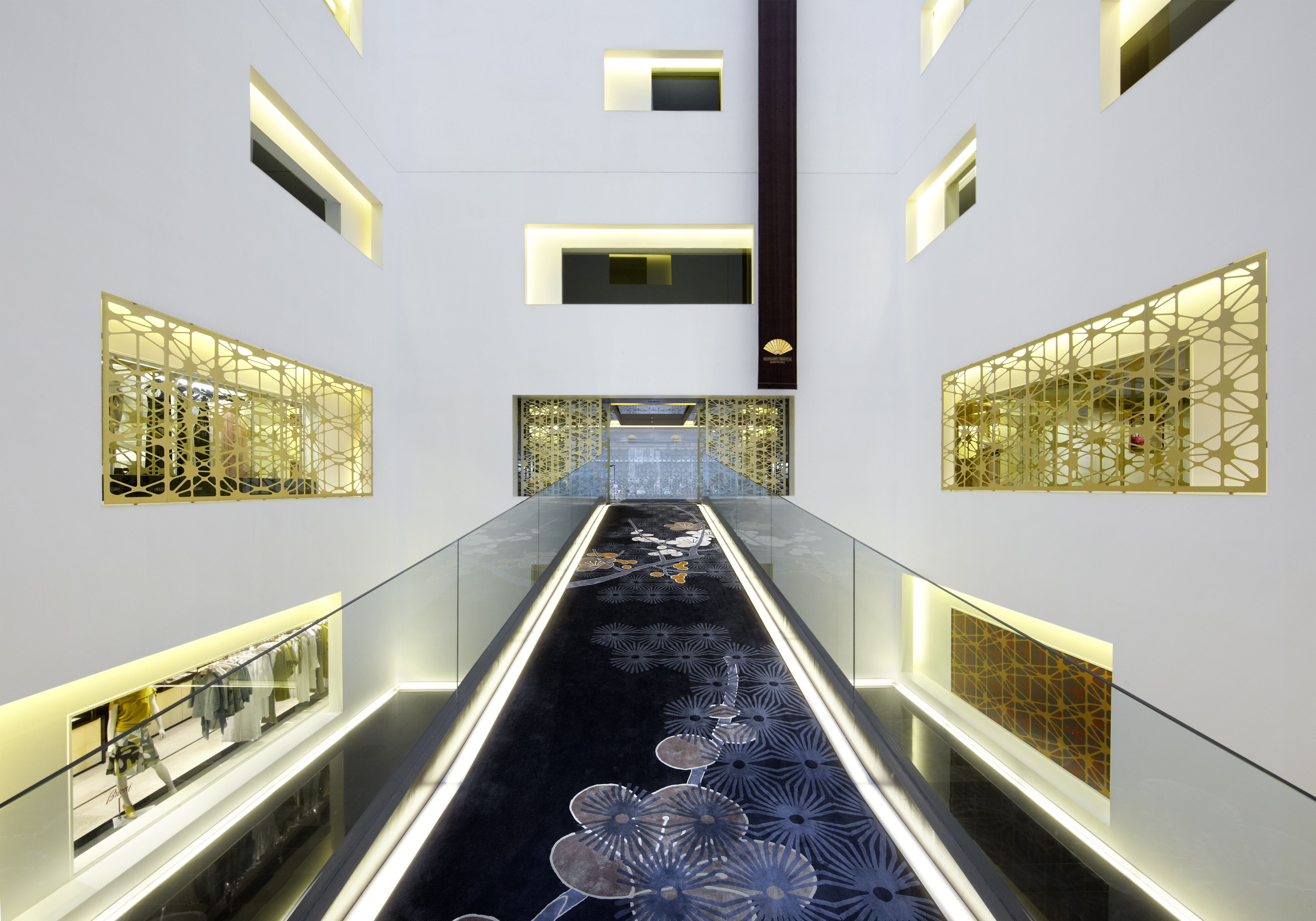 Photograph of Mandarin Oriental Hotel, Barcelona, Spain. Designed by Patricia Urquiola. Designed in 2010.