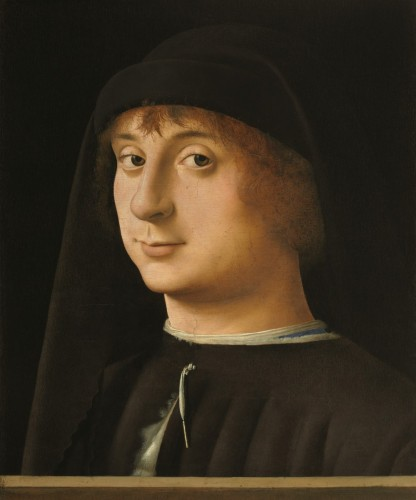 Portrait of a Young Gentleman, 1474. Antonello da Messina