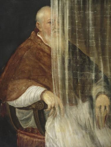 Portrait of Archbishop Filippo Archinto, 1558. Titian