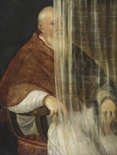 Portrait of Archbishop Filippo Archinto, 1558. Titian