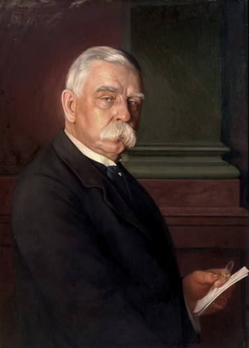Portrait of John G. Johnson, 1917. Conrad F. Haeseler, American, 1875 1962