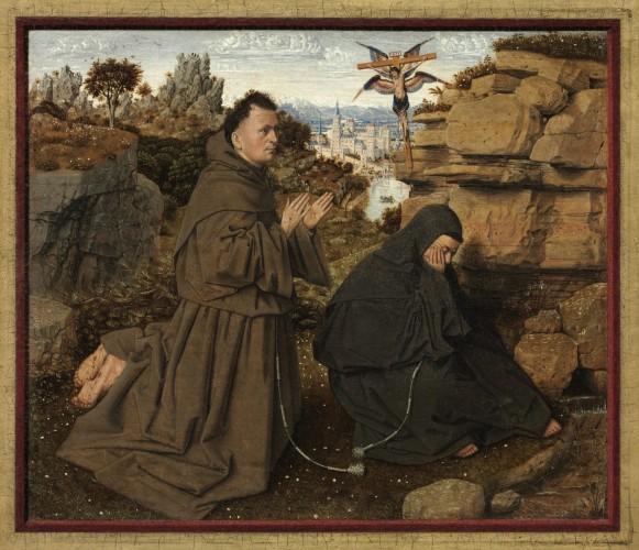 Saint Francis of Assisi Receiving the Stigmata, 1430 1432. Jan van Eyck, Netherlandish