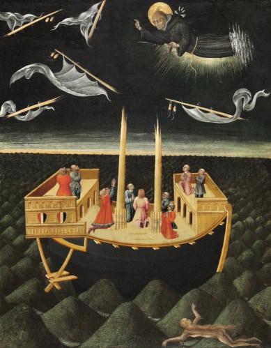 Saint Nicholas of Tolentino Saving a Shipwreck, 1457