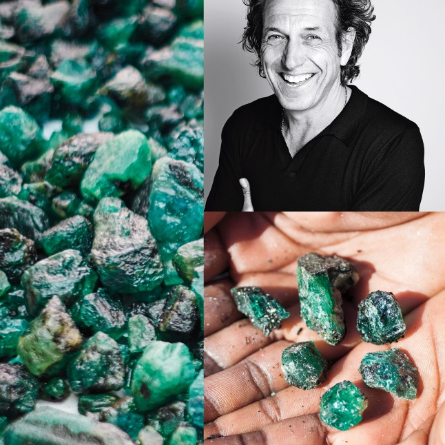 STEPHEN WEBSTER EXPERIENCE AND 7.2-CARAT EMERALD