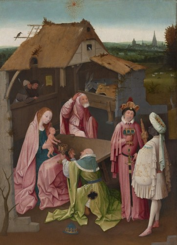 The Adoration of the Magi, Early 16th century. Hieronymus Bosch, Netherlandish