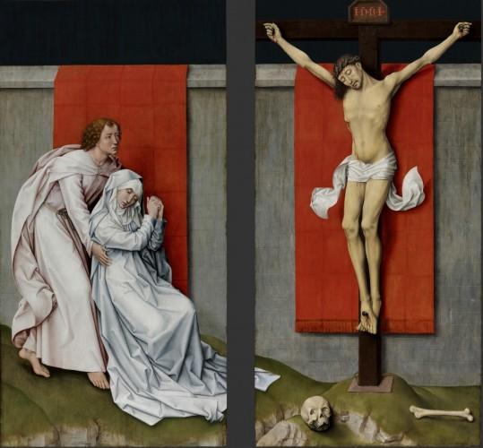 The Crucifixion, c. 1460. Rogier van der Weyden, Netherlandish