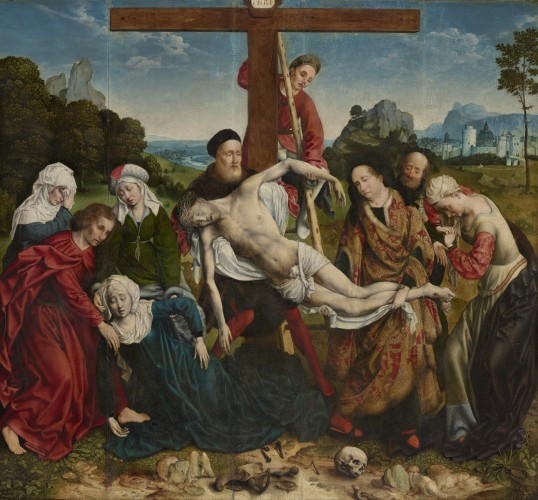 The Descent from the Cross, c. 1518 1520. Joos van Cleve, Netherlandish