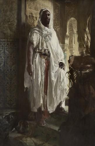 The Moorish Chief, 1878. Eduard Charlemont, Austrian, 1848 1906