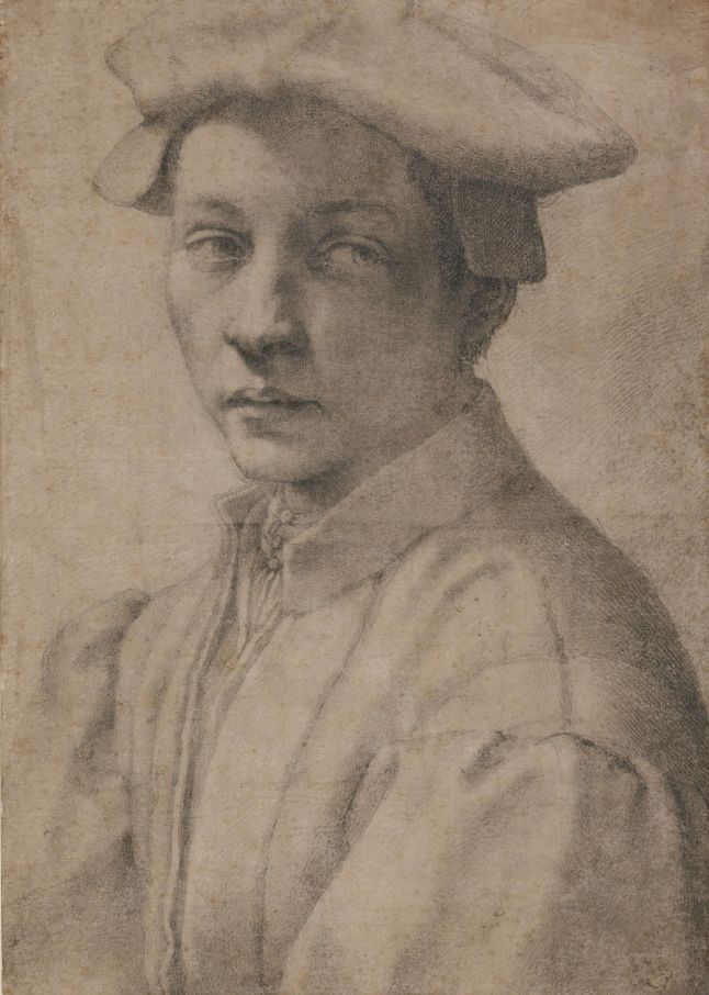 11. Michelangelo_Portrait of Andrea Quaratesi_British Museum_London
