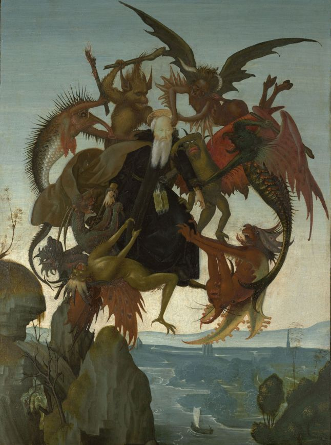 3. Michelangelo_The Torment of Saint Anthony_Kimbell Art Museum_Fort Worth
