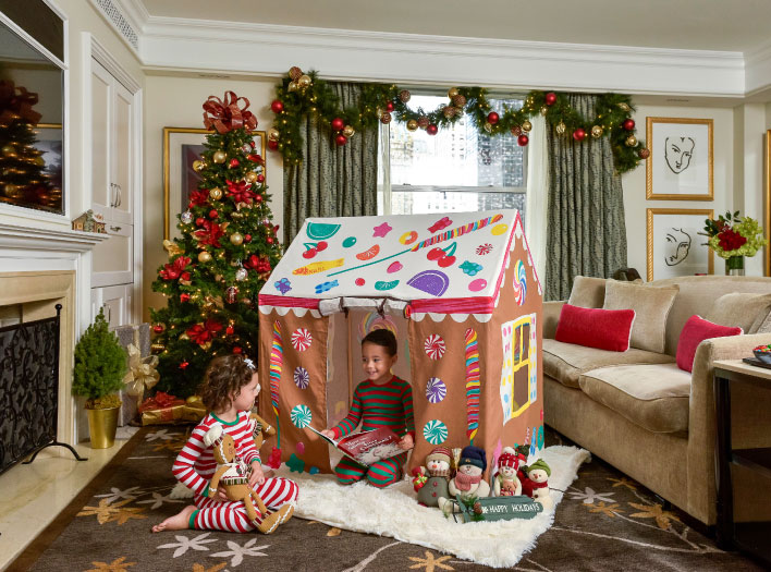 Luxury hotel announces family-friendly rooms packages and events to celebrate the season.
