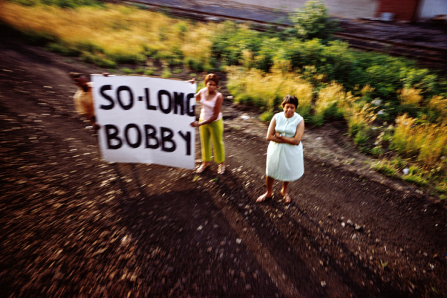Paul Fusco, Untitled, from the series RFK Funeral Train, 1968, printed 2008; © Magnum Photos, courtesy Danziger Gallery