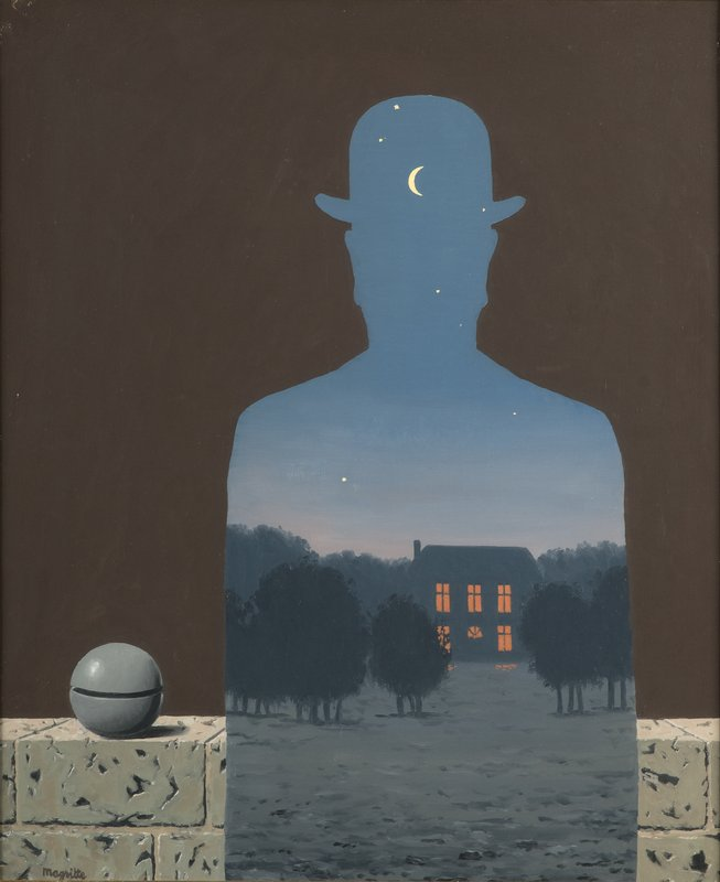 René Magritte, The Happy Donor, 1966