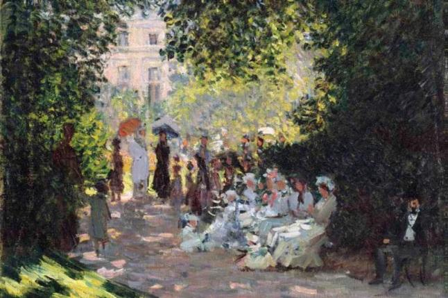 Claude Monet (French, 1840–1926). The Parc Monceau