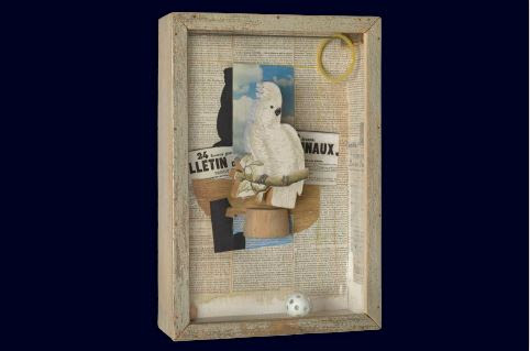 Joseph Cornell (American, 1903–1972). Homage to Juan Gris, 1953–54.