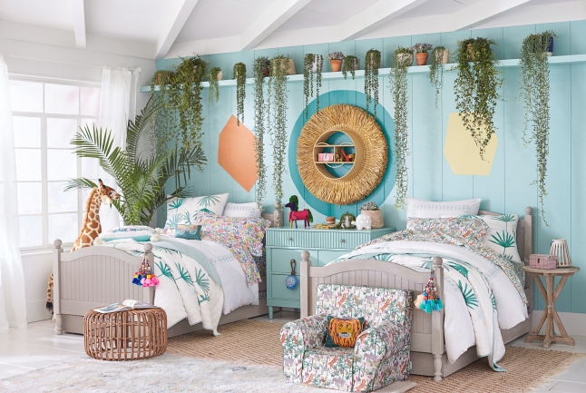 Jungalino Room in the Justina Blakeney for Pottery Barn Kids collection.