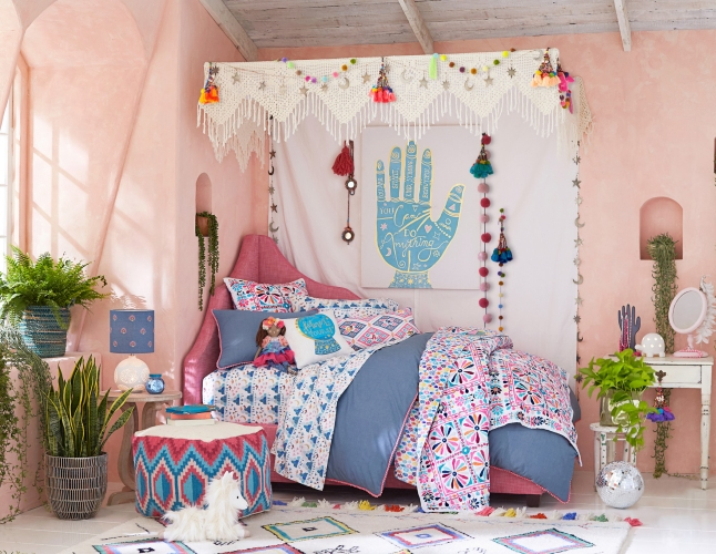 Magic Disco Caravan room in the Justina Blakeney for Pottery Barn Kids Collection.