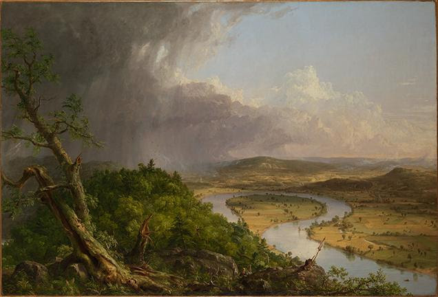 Thomas Cole (American, 1801–1848). View from Mount Holyoke, Northampton, Massachusetts,