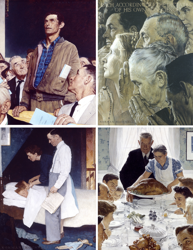 1. Rockwell - Four Freedoms composite