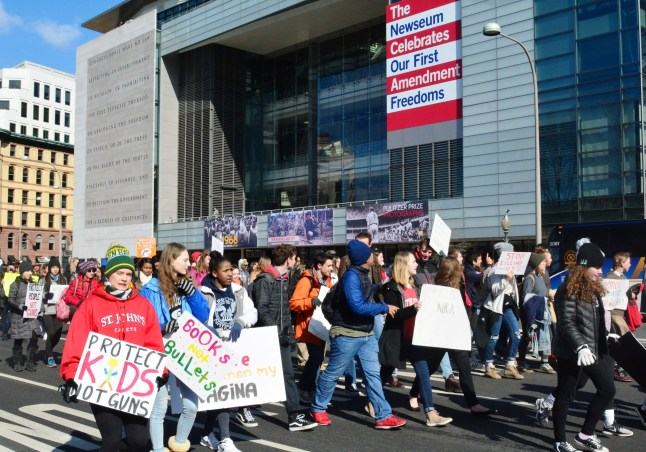Newseum March for Our Lives