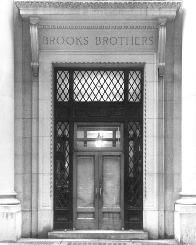 Brooks Brothers 346 Madison Avenue Flagship Store NYC Entrance