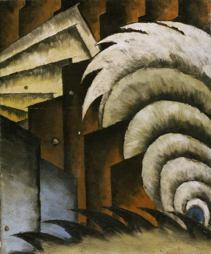 Chinese Music, 1923, by Arthur Dove