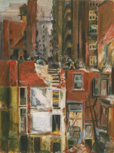 Demolition, c. 1944, by Dox Thrash