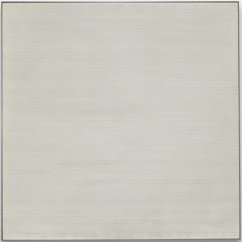 Hill, 1967, by Agnes Martin
