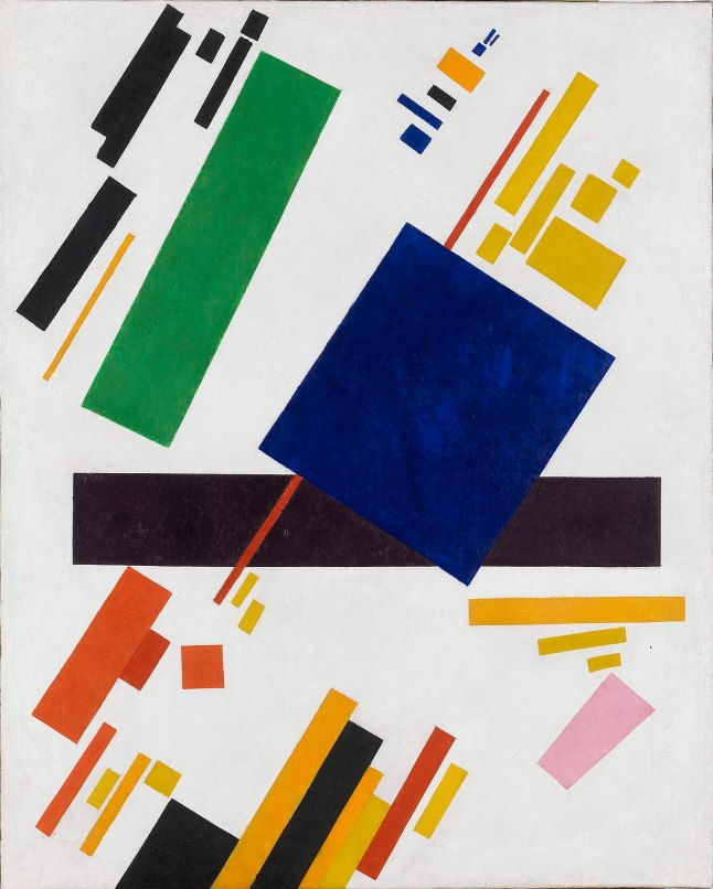 Kazimir Malevich, Suprematist Composition, 1916, oil on canvas