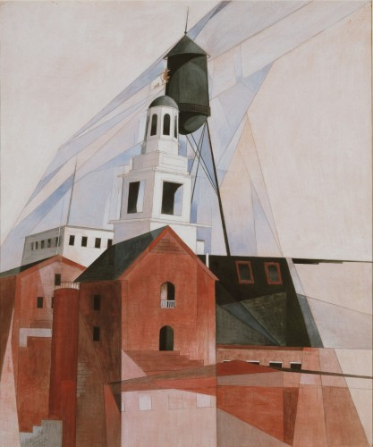 Lancaster (In the Province No. 2), 1920, by Charles Demuth