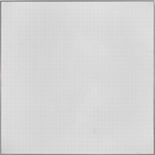 Play II, 1966, by Agnes Martin