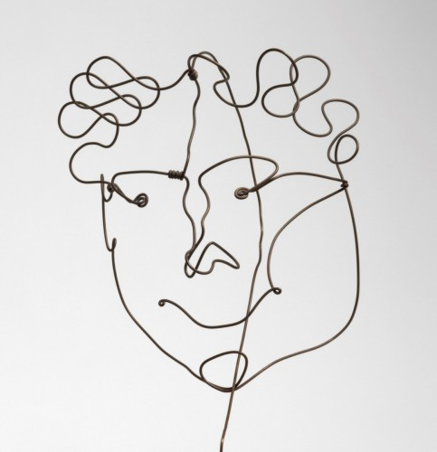 Portrait of Carl Zigrosser (1891 – 1975), c. 1928, by Alexander Calder