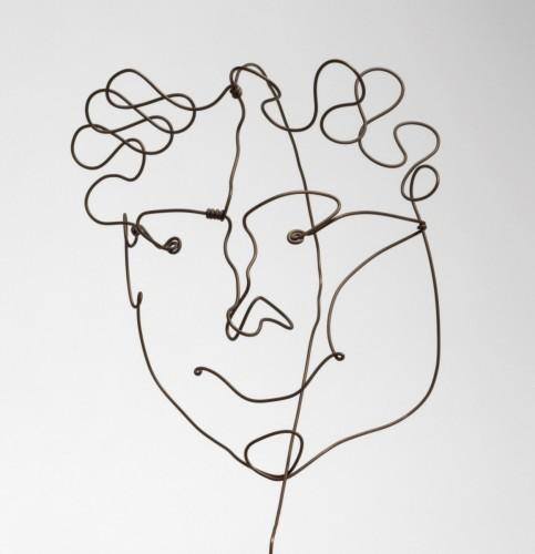 Portrait of Carl Zigrosser (1891 – 1975), c. 1928, by Alexander Calder