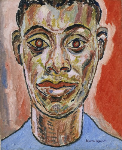 Portrait of James Baldwin, 1945, by Beauford Delaney
