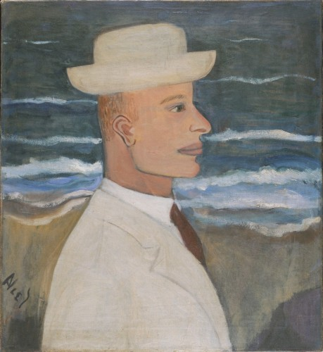 Portrait of John with Hat, 1935, by Alice Neel