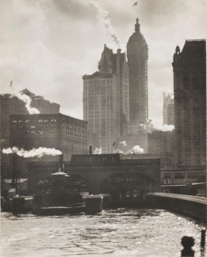 The City of Ambition, 1910 (negative); c. 1930 (print), by Alfred Stieglit