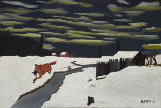 The Getaway, 1939, by Horace Pippin