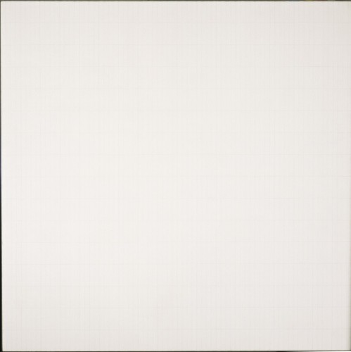 The Rose, 1965, by Agnes Martin