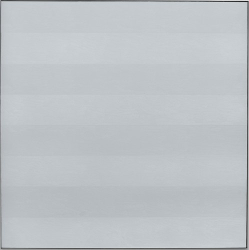 Untitled #6, 1985, by Agnes Martin