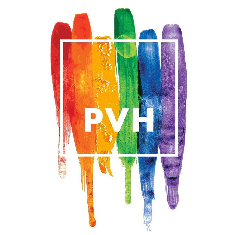 PVH Pride Logo 2018 (Graphic Business Wire)
