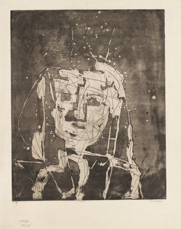 Drawings and Prints by Louise Nevelson