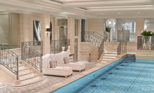 Welcome to our brand new spa at Four Seasons Hotel George V Paris…