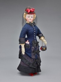 """Miss G. Townsend"" Fashion Doll, 1870s, France (Gift of Edward Starr, Jr., 1976-58-9)"