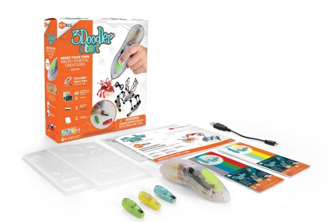 3Doodler Hexbug PenSet 1