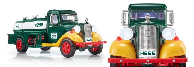 Hess Corporation truck