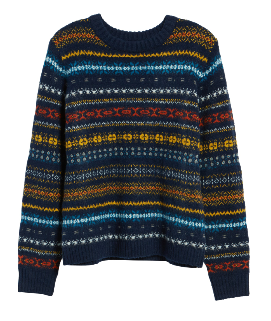 November 27 - Treasure & Bond Patterned Pullover
