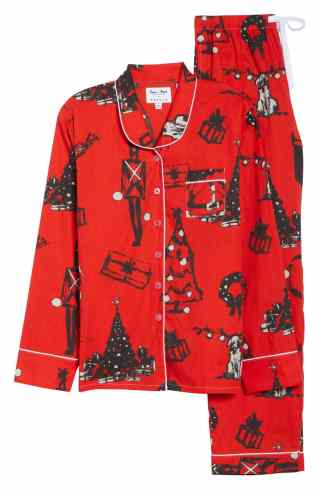 November 29 - Sant and Abel Santa Pajamas