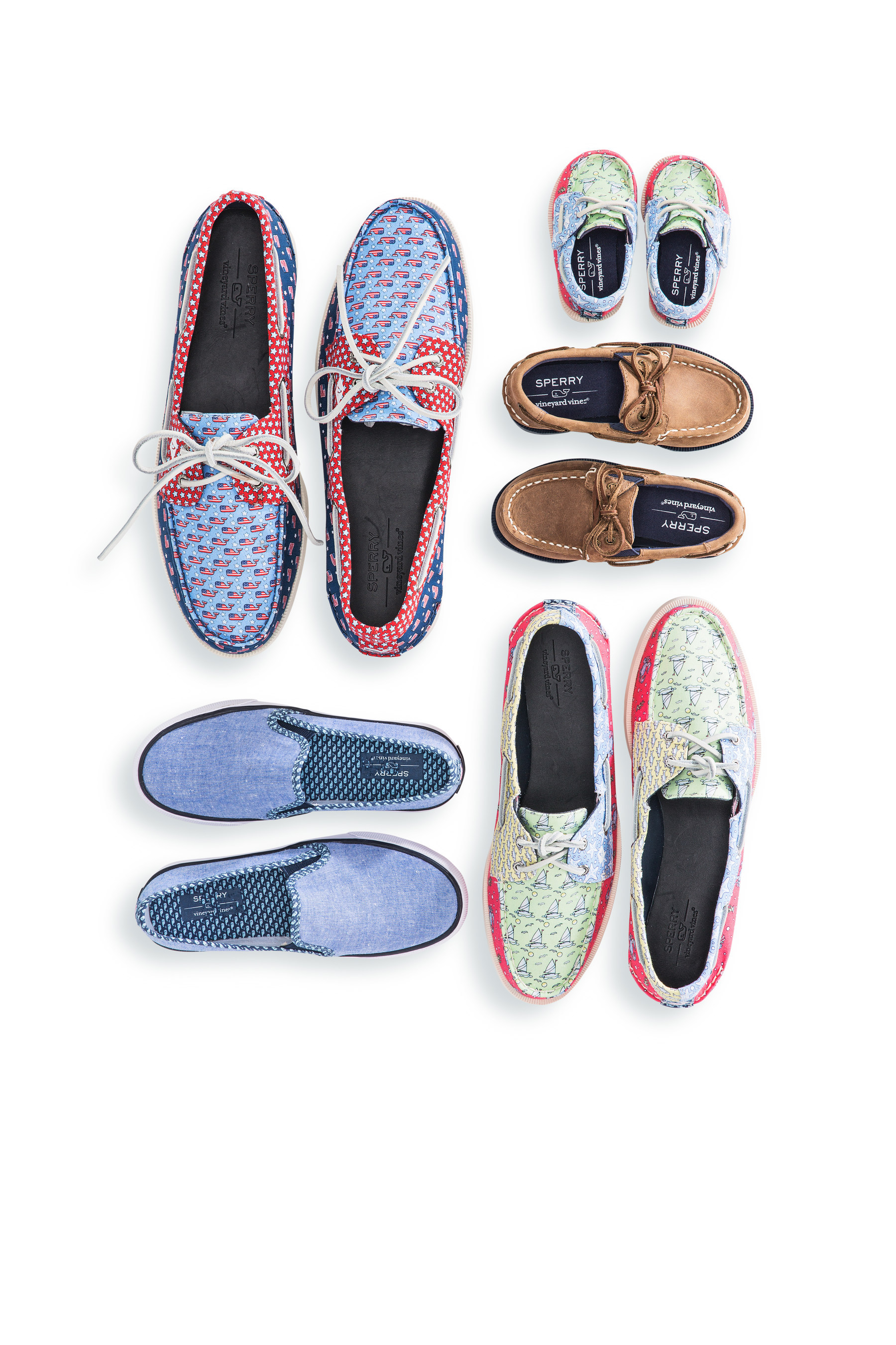 vineyard vines SPERRY PATCHWORK shoes