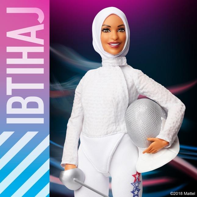 Barbie ® Ibtihaj Muhammad Doll