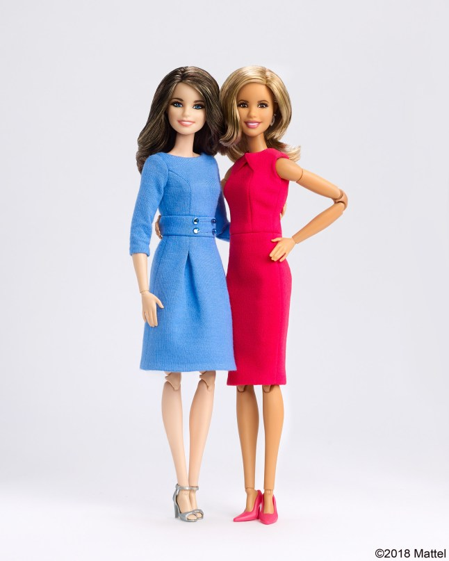 Savannah and Hoda OOAK Barbie Dolls